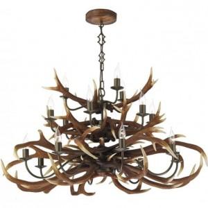 Antler 12 light rustic chandelier. bespoke chandelier made to order. pinterest